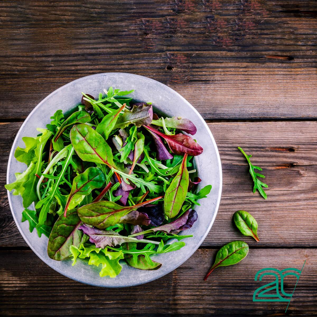 A Salad Bowl, Part of 20PerFit's Anti-Inflammatory Diet