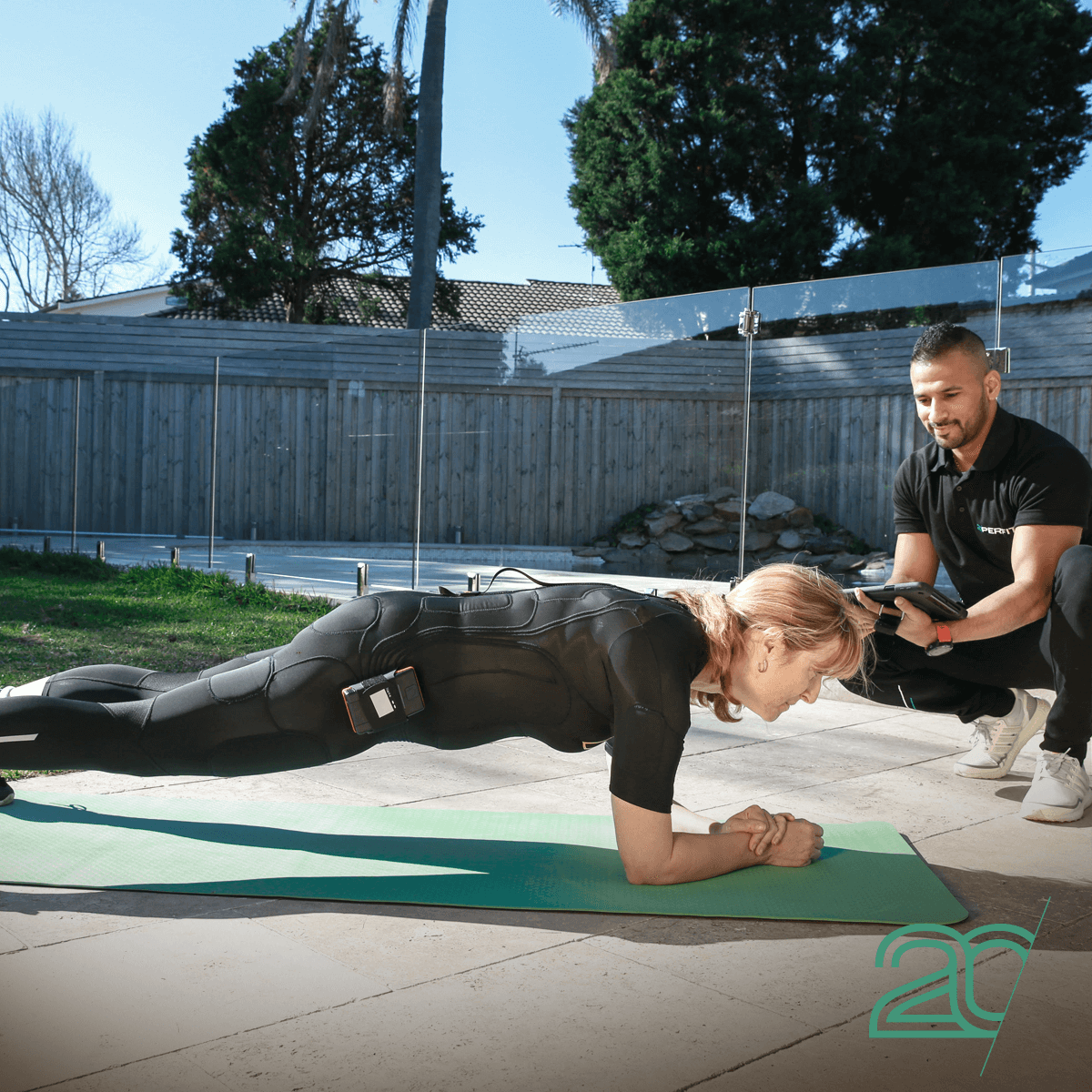 20PerFit Outdoor Mobile EMS Training With A Personal Trainer