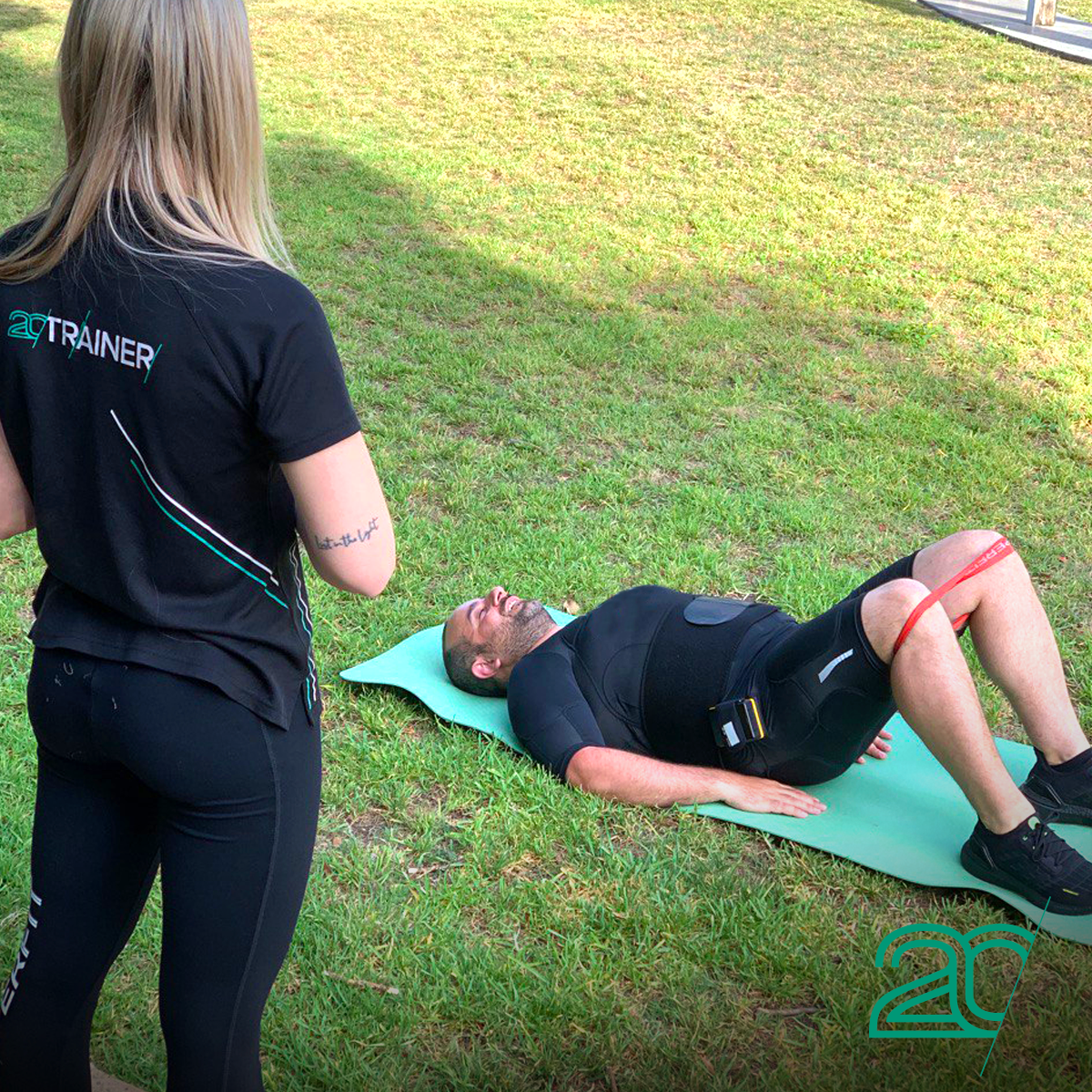 mobile EMS personal trainer