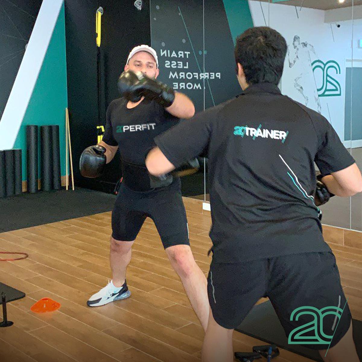 Boxing EMS Workout at The Parramatta Studio