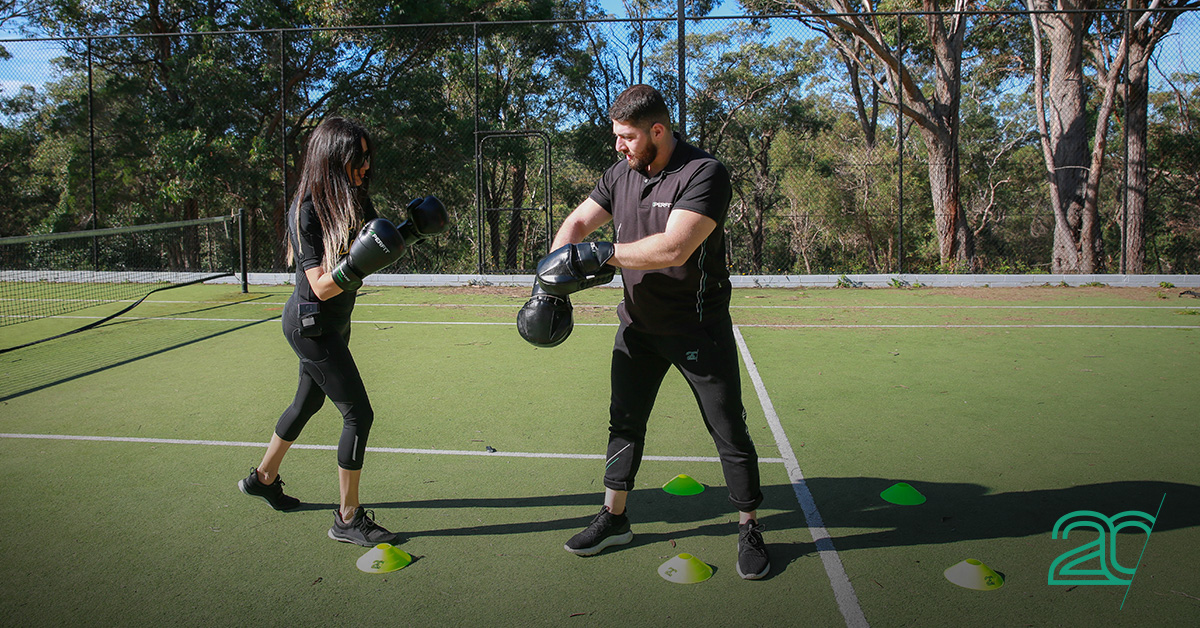 20PerFit Outdoor EMS Training with Personal Trainer