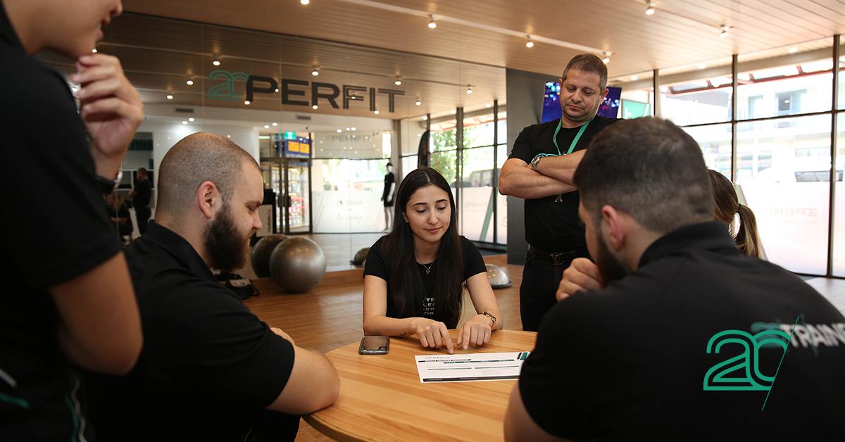 20perfit staff meeting in a 20perfit training studio