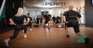 Workout session in a 20perfit studio